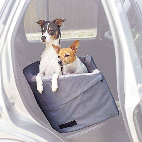 Abbey Daily Deals, Bucket Booster Pet Seat  - Large - Gray, Top Pet Carriers - Abbey Daily Deals - Abbeyshoppingplaza.com Shopify