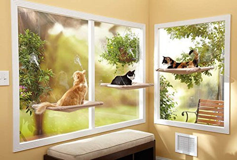 Abbey Daily Deals, Window-Mounted Cat Bed, Top Pet Beds - Abbey Daily Deals - Abbeyshoppingplaza.com Shopify