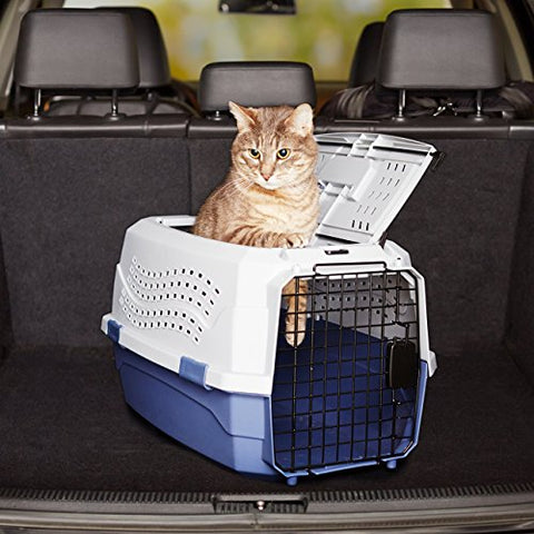 Abbey Daily Deals, Top Quality Pet Carrier - Medium - Grey/Blue, Top Pet Carriers - Abbey Daily Deals - Abbeyshoppingplaza.com Shopify