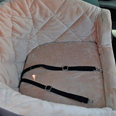 Abbey Daily Deals, Auto Bucket Booster Pet Seat - Large Tan, Top Pet Carriers - Abbey Daily Deals - Abbeyshoppingplaza.com Shopify