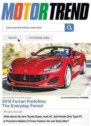 Abbey Daily Deals, MOTOR TREND MAGAZINE – 1 Year ( 12 Issues), free gifts - Abbey Daily Deals - Abbeyshoppingplaza.com Shopify