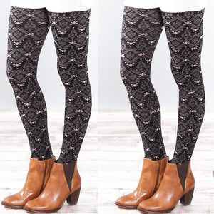 Abbey, Women Autumn and Winter Elastic Leggings,  - Abbey Daily Deals - Abbeyshoppingplaza.com Shopify
