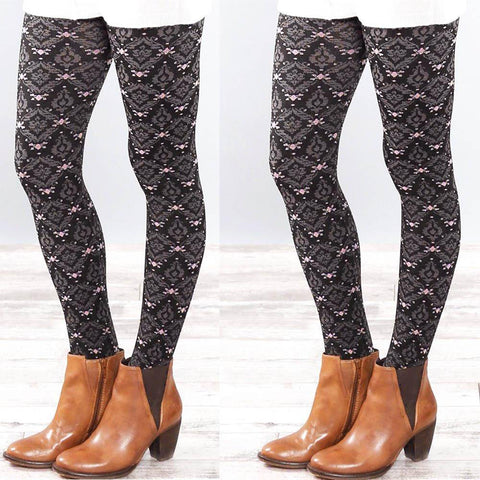 Image of Abbey, Women Autumn and Winter Elastic Leggings,  - Abbey Daily Deals - Abbeyshoppingplaza.com Shopify
