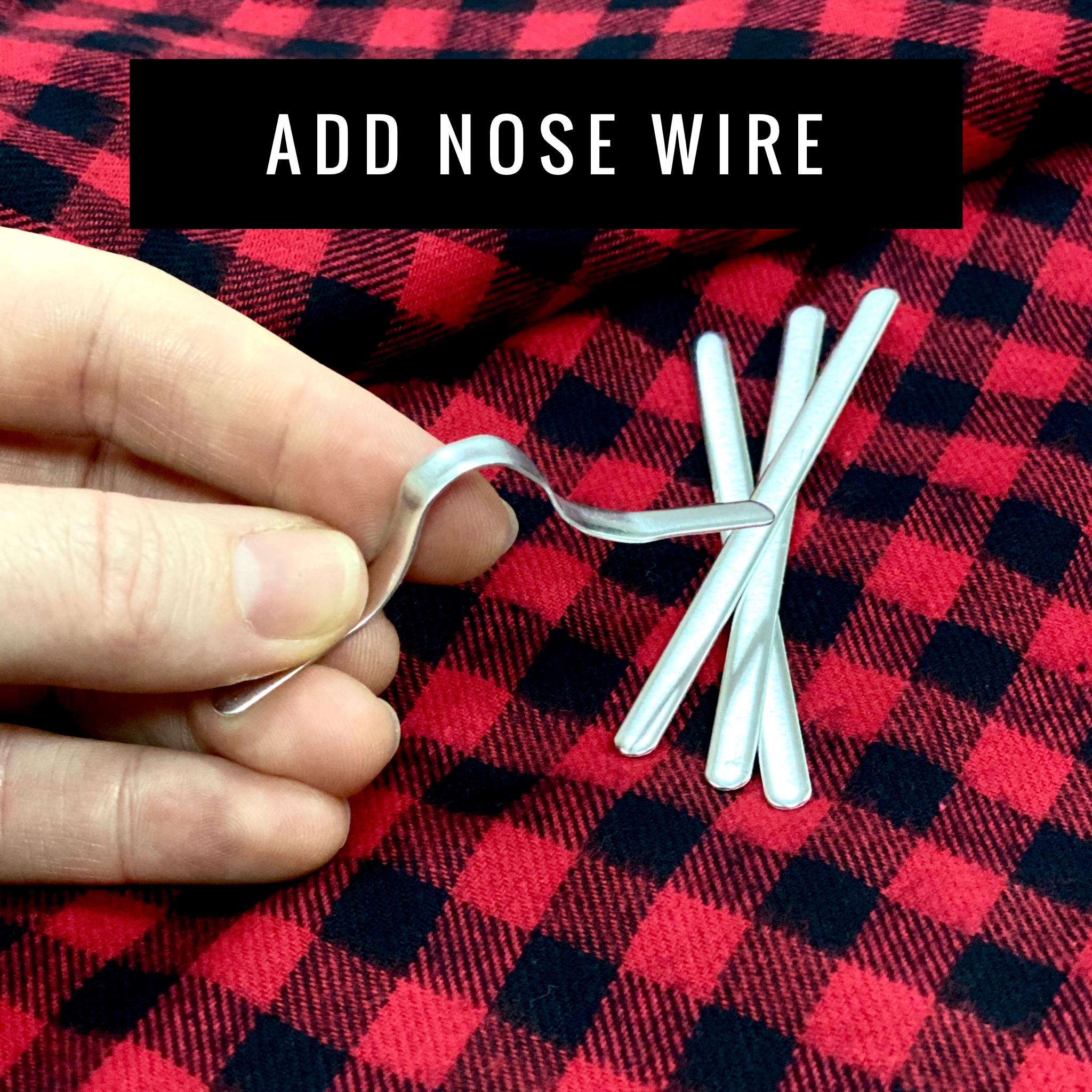 ADD Nose Wire to Mask - Per Mask