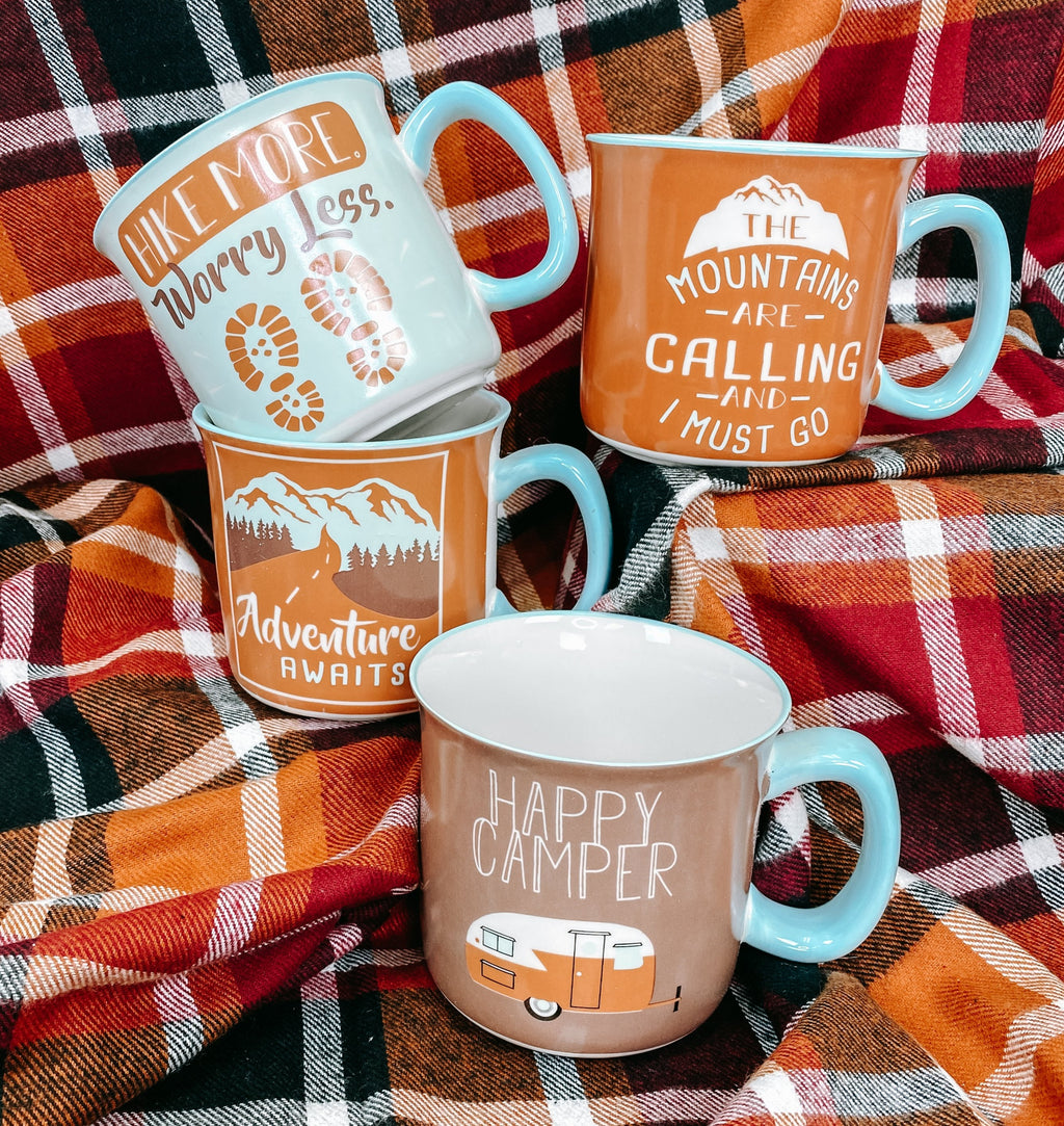 The Great Outdoors Camping Adventure Mug Collection