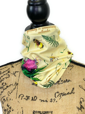 NEW Go Tell the Bees Outlander Neck Gaiter/Face Covering