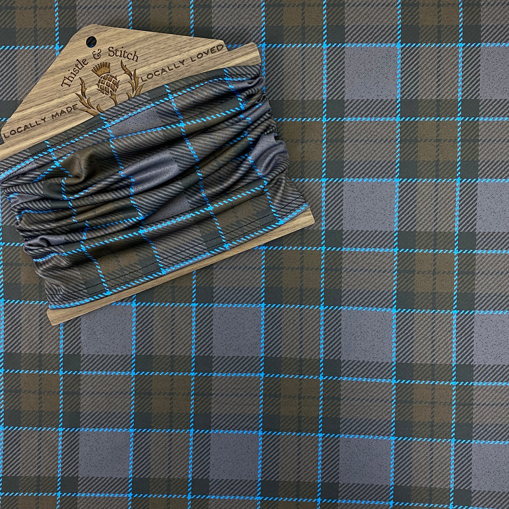 Outlander MacKenzie Tartan Neck Gaiter/Face Covering