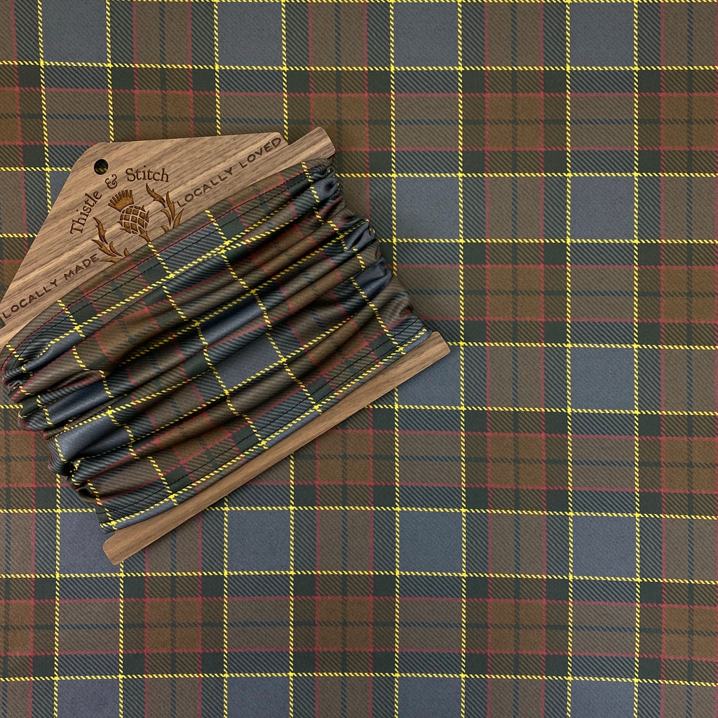 Outlander Fraser Tartan Neck Gaiter/Face Covering
