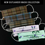 Outlander Premium Pattern Mask Collection 2