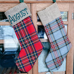 NEW Tartan Christmas Stockings