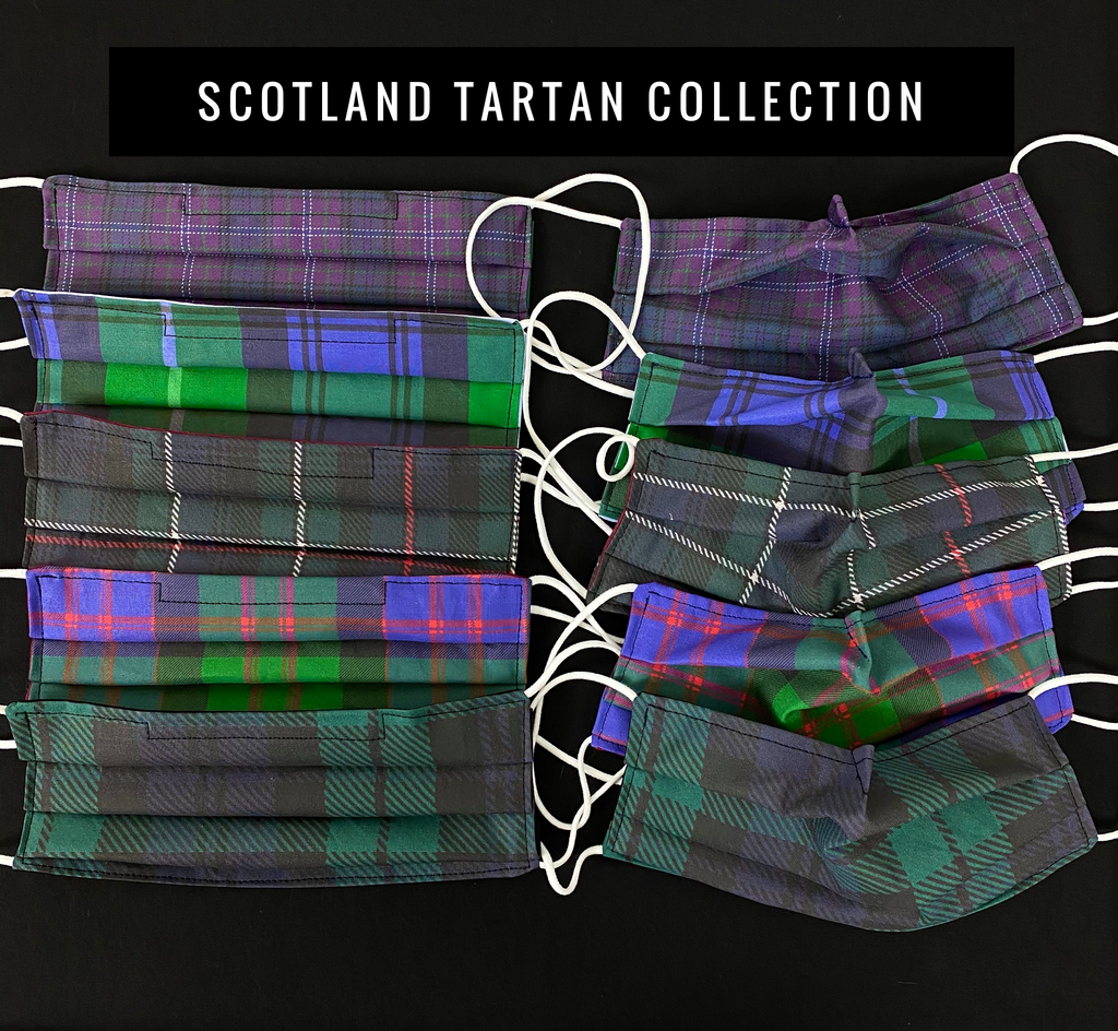 Scottish Tartan Mask Collection