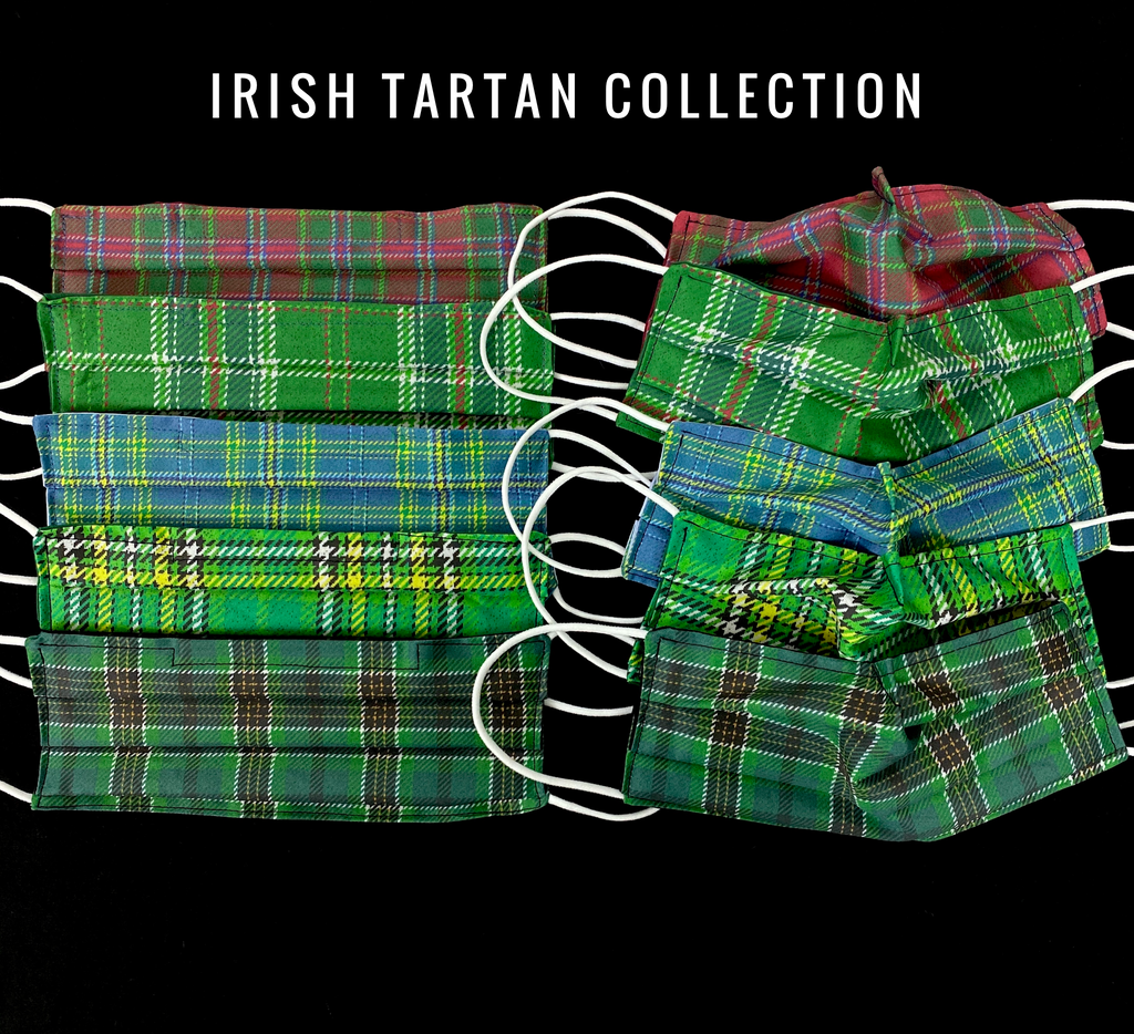 Irish Tartan Mask Collection