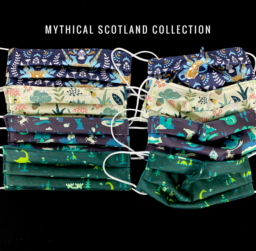 NEW Mythical Scotland Mask Collection