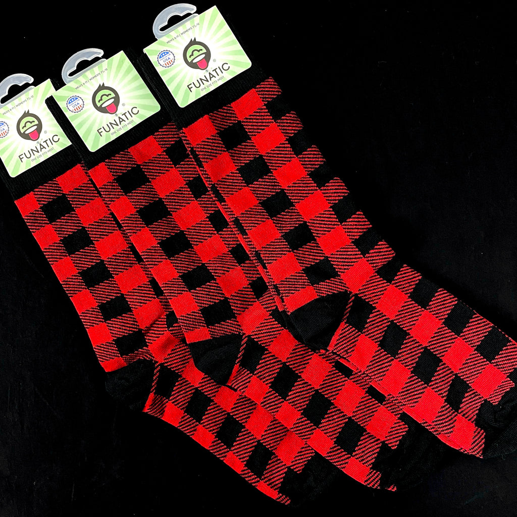 NEW Buffalo Plaid Socks
