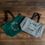 Claire's Apothecary Embroidered Tote Bag - Outlander Inspiration
