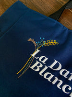 La Dame Blanch Embroidered Tote Bag - Outlander Inspiration