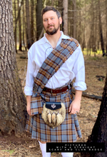 3-Yard Kilt - Outlander Clan MacKenzie Inspired Military Comfy Cotton Flannel Kilt