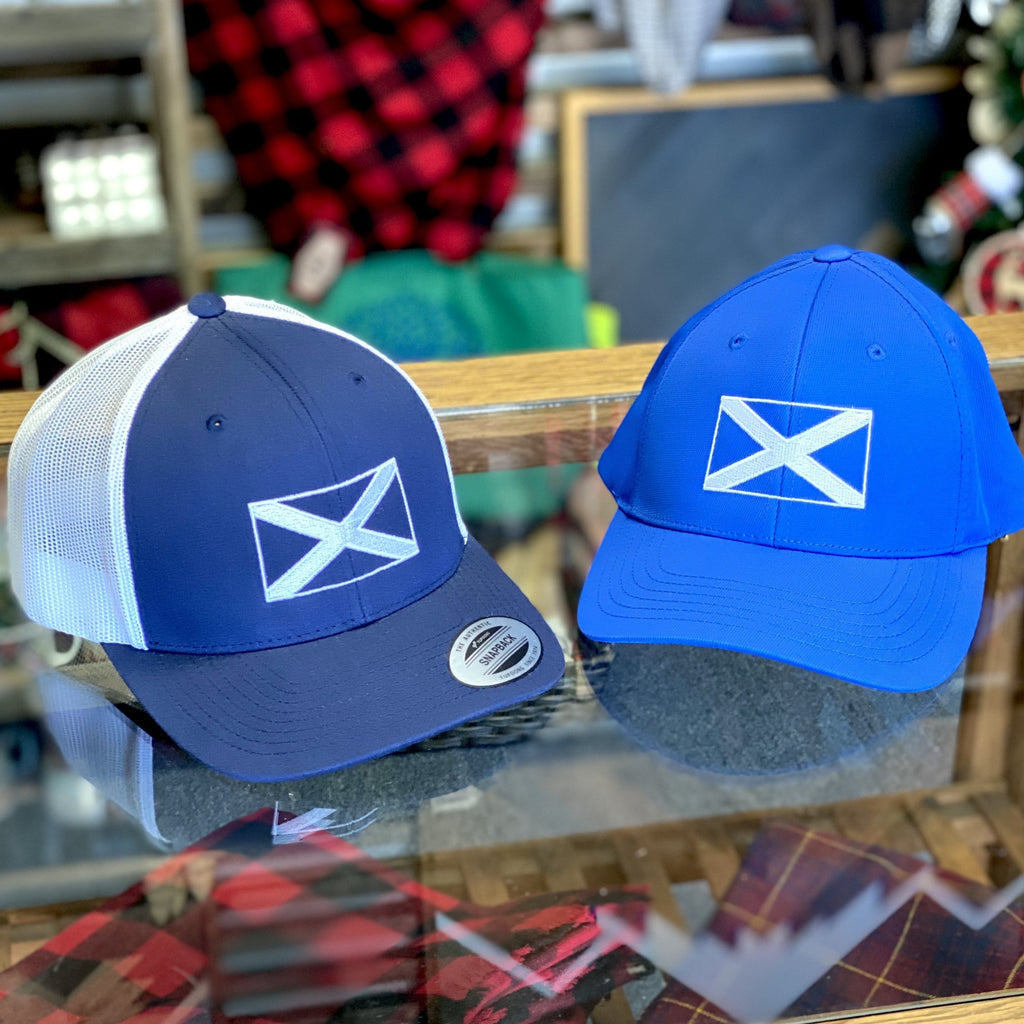 Saltire Flag of Scotland Embroidered Hat
