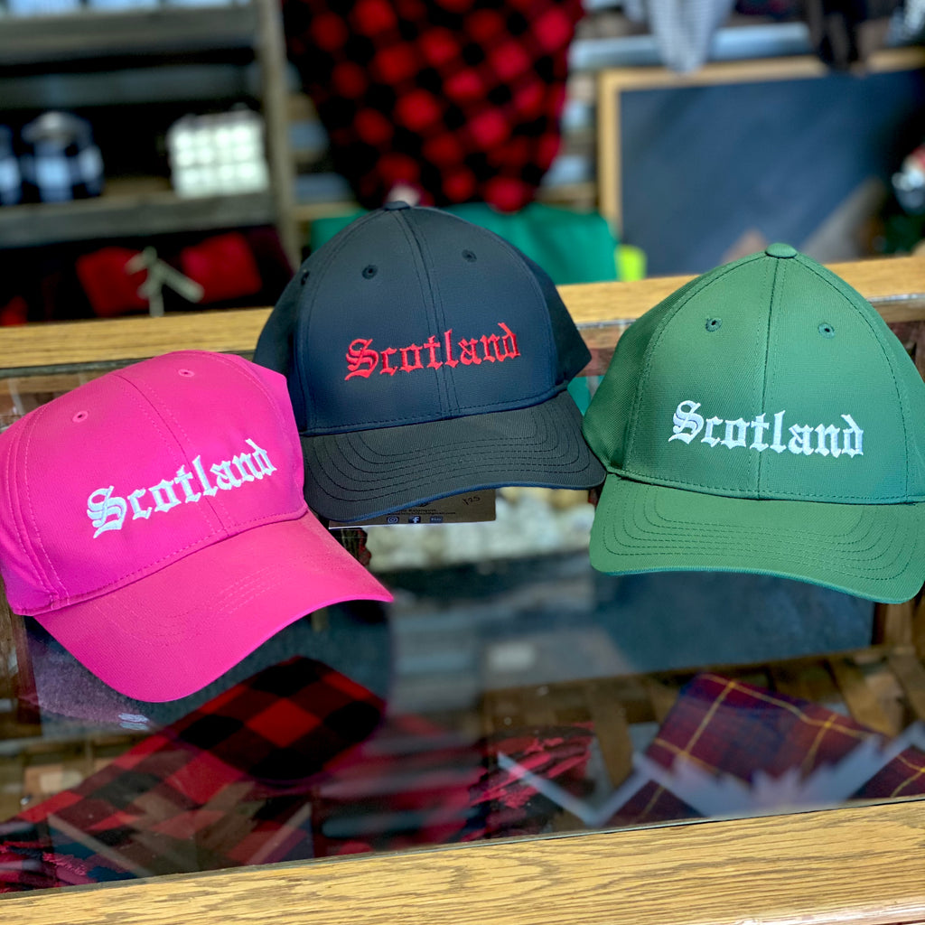 Scotland Embroidered Athletic Hat - Multiple Customizable Options