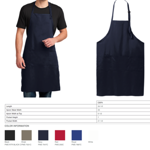 """Hey Good Lookin Whatcha Got Cookin"" Embroidered Apron - Craftsman and Canvas Style Options"