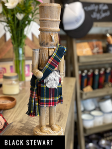 Kilted Nutcrackers - Outlander and Other Tartans!