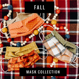 Fall Collection Face Masks