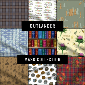 Outlander Premium Pattern Mask Collection