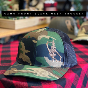 CA Tree Logo Camo Hat