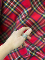 Scottish Thistle Adjustable Ring