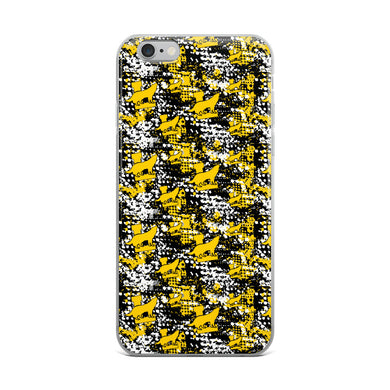 Wolves Graffiti iPhone Case