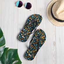 Load image into Gallery viewer, Malibu Flip-Flops (Black)