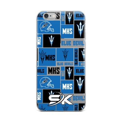Maiden Football iPhone Case