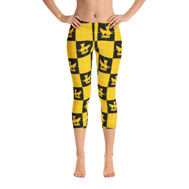 LHS Wolves Capri Leggings