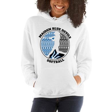 Maiden Softball Hooded Sweatshirt