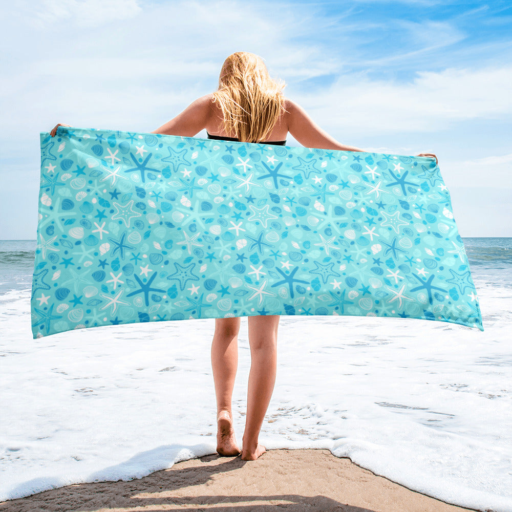 Malibu Beach Towel (Blue)