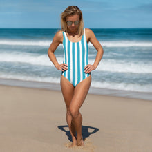 Load image into Gallery viewer, Ocean Blue One-Piece Swimsuit