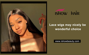 Lace wigs may nicely be wonderful choice