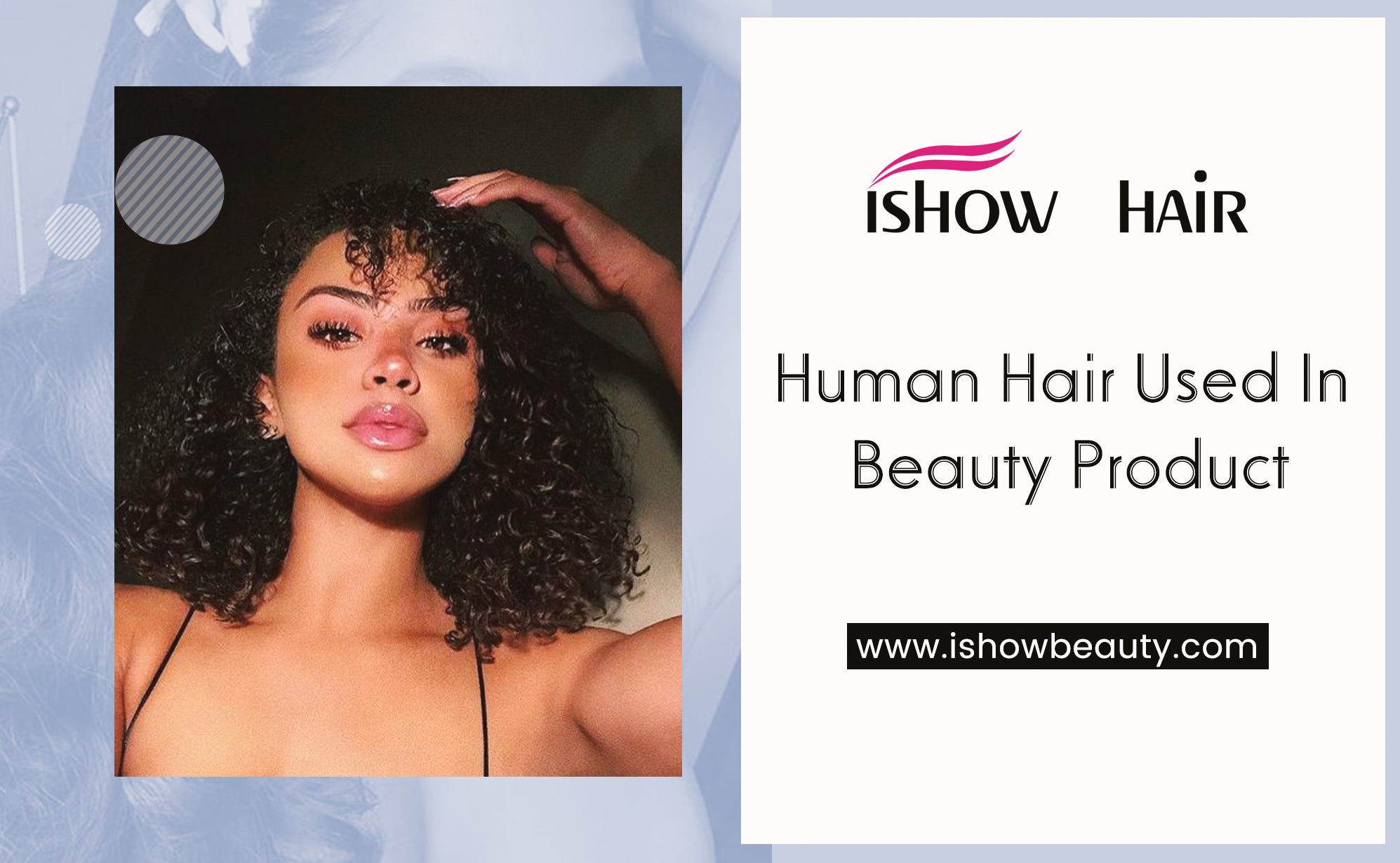 Human Hair Used In Beauty Product