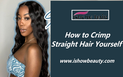 How to Crimp Straight Hair Yourself