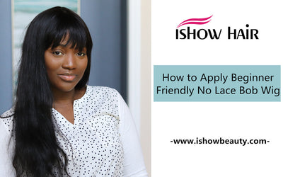 How to Apply Beginner Friendly No Lace Bob Wig