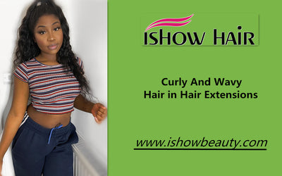 Curly And Wavy Hair in Hair Extensions
