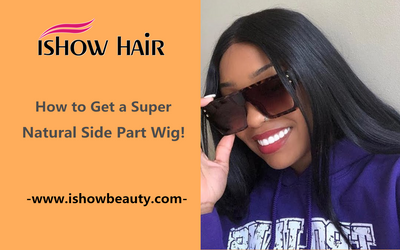 How to Get a Super Natural Side Part Wig!