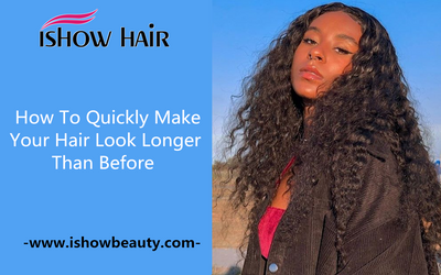 Quick Ways To Let The Hair Natural and Longer