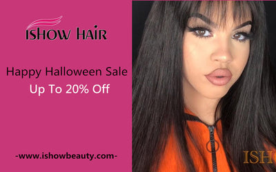 Ishow Hair Happy Halloween Day Sale : Up To 20% Off