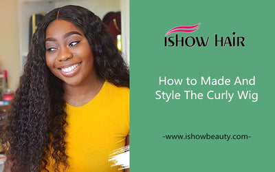 How to Made And Style The Curly Wig