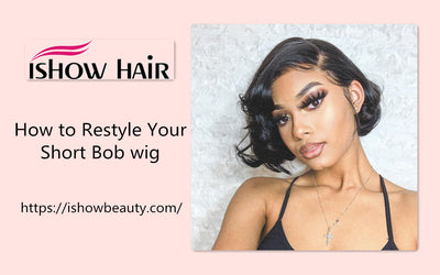 How to Restyle Your Short Bob wig