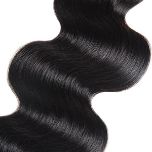 Brazilian Body Wave Hair Bundles With Baby Hair Ishow 3 Bundles Hair Weave With 2X4 Lace Closure - IshowVirginHair