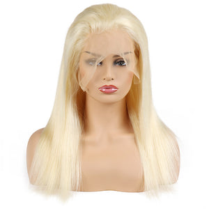 Ishow Hair Malaysian Summer Blonde 613 Color Lace Frontal Straight Human Hair Wig