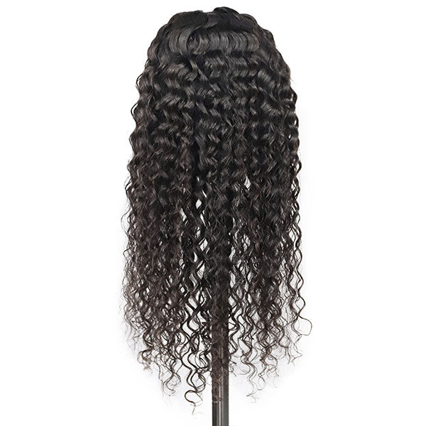 Ishow Beauty Hair Water Wave Lace Front Virgin Remy Human Hair Wigs