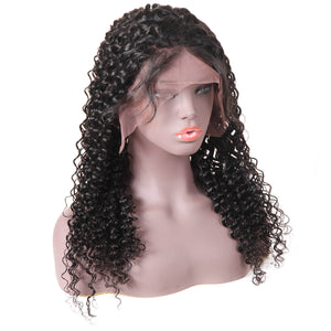 Ishow Hair Wigs Malaysian Deep Wave Lace Front Cheap Remy Hair Wig For Black Women